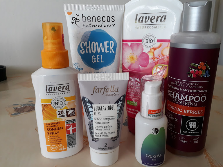 Naturkosmetik-Produkte