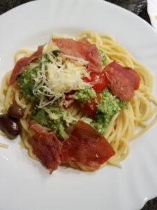 pasta comfort food
