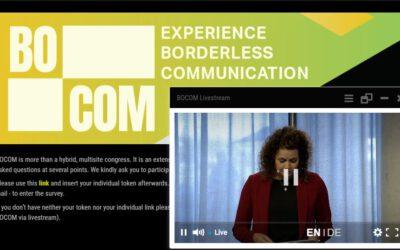BOCOM – LIVE-Kommunikation ohne Grenzen