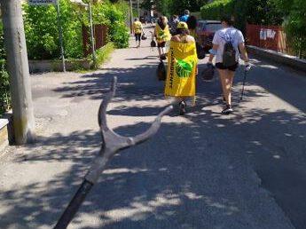 Plogging in Italien