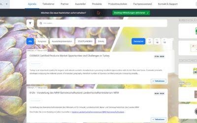 Biofach/Vivaness eSpecial: Sehen wir uns auf Talque?